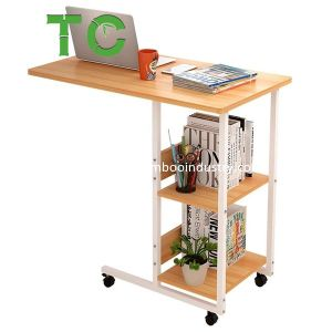 Table d'ordinateur mobile en forme de C ordinateur mobile Bureau debout côté bureau Table lit Table Table Table Table Table basse
