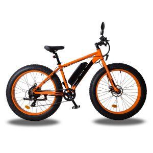 Grasa bicicleta eléctrica de 26 pulgadas con la parte trasera de la unidad Bafang 350W