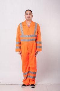 100%Fita Refletora Poliéster Pano fino de vestuário de segurança para os Trabalhadores da Construção Civil