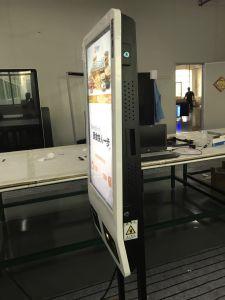 32polegadas ordenação automática Self Service Ecrã Táctil quiosque de pagamento com a impressora térmica, faça a leitura do código QR