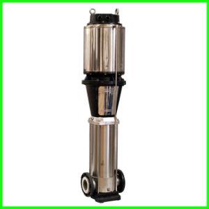 Bomba de aço inoxidável de alta pressão água Multiestágio Vertical Bomba Centrífuga