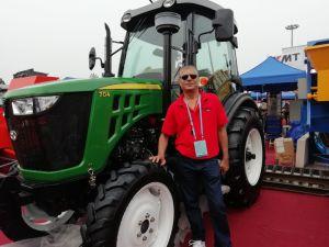 50 HP, 55 HP, 60 HP 70HP 80HP 90a agricultura de Tratores Agrícolas com rodas HP com arado de Certificação Coc