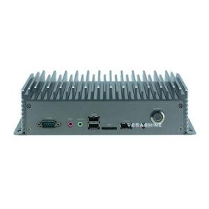 6 LAN dupla com com o SIM J1900 Mini Computador Industrial sem ventoinhas