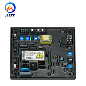 5kw alternador regulador de voltaje Sx450 Auto generador emocionado AVR