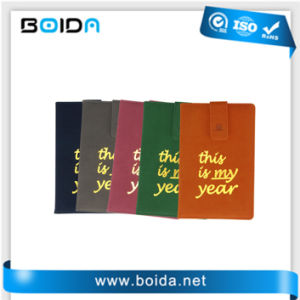 Papel de capa dura Customed promocionais PU planejador do diário do notebook (NB11101)