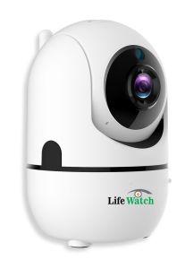 1080P 360 l'alignement automatique WiFi Caméra IP alimenté par batterie pour moniteur pour bébé