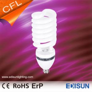 A poupança de energia T5 65W 85W 105W metade lâmpadas CFL espiral no depósito
