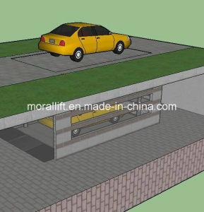 二重車の駐車デッキのガレージの上昇