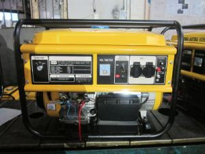 Generatore della benzina di HH5500 5KW con l'inizio elettrico