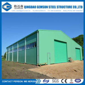 El bastidor de la luz de la estructura de acero de construcción de Galpón Waerhouse