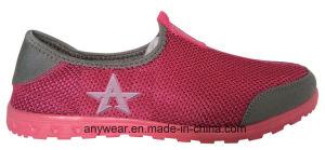 Zapatos ocasionales de la comodidad del calzado de las mujeres de los hombres del ocio que recorren (816-2945)