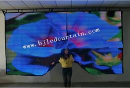 LED Display/Outdoor LED Display mit Flexible LED Display Soft &Transparent für Stage Rental bekanntmachen