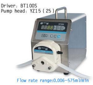 Het Doseren van de Snelheid van de Zwakstroom van de Pomp van het Roestvrij staal van het Laboratorium van Bt100s Yz15 de Nauwkeurige Veranderlijke Elektrische Peristaltische Vloeibare Pompen van het Water van de Pomp Vloeibare