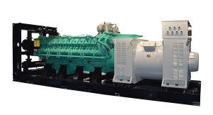 2400kw 3000kVA Diesel Generator High Voltage 11kv con Transformer