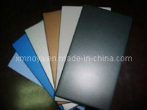 Mur matériaux décoratifs panneau MDF UV de couleur unie