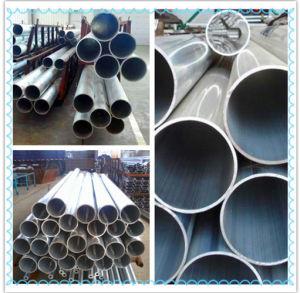 Tubo di alluminio, tubo della lega di alluminio (6061, 6063, 5052, 7075)