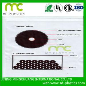 透過か明確なPVCか、PVCはさみ金包む、カバーのための不透明なフィルム保護、覆い