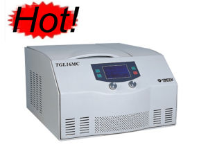 Тип высокоскоростная холодная центробежка TGL16MC таблицы
