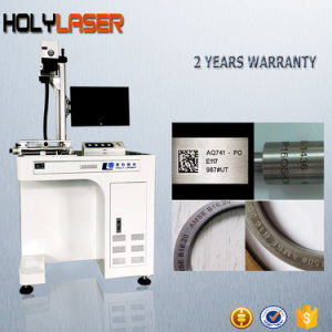 macchina della marcatura del laser di stampa dell'incisione d'acciaio del metallo di 20W 30W