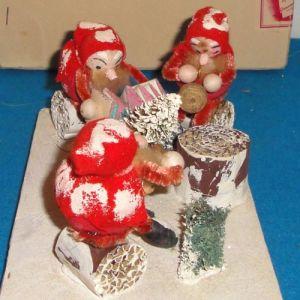 OEM Newst het Ornament van Kerstmis van Polyresin van het Ontwerp