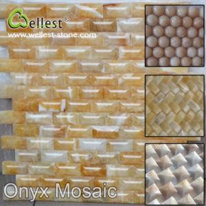 De in het groot Marmer/Glas/Lei/Basalt/Tegel van het Mozaïek van Bluestone/van de Travertijn