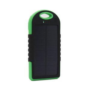 Banco de Potencia portátil cargador solar para el iPhone 6