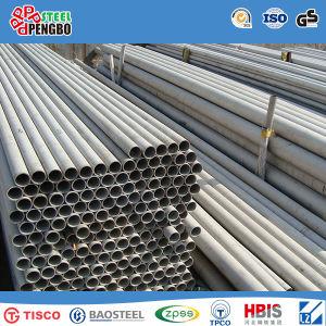 304 ASTM сшитых из нержавеющей стали AISI конец трубы с помощью винтов с
