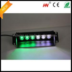 Для поверхностного монтажа Dual-Colored плафон освещения салона автомобиля в белых тонах зеленого цвета