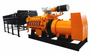 60Hz 1000kw 1250kVA Natural Gas Generator avec Horizontal Radiator