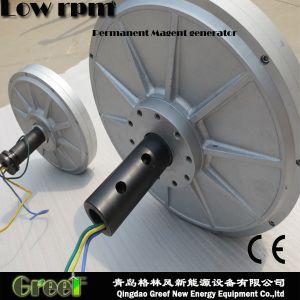 Disco Coreless bajo par motor generador de imanes permanentes por parte de la energía eólica