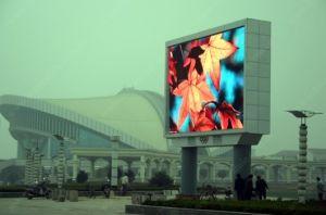 P12 LED Cores exteriores, Placa de publicidade do LED