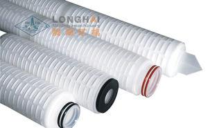 Cartuccia di filtro pieghettata dalla membrana dei pp 20 ''