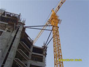 8t Construcción La construcción de kits de constructor de grúas torre superior