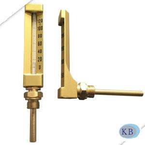 産業使用法金ガラスVライン整形温度計