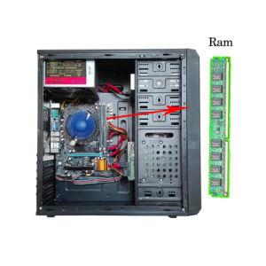 De Bureaucomputer van DJ-C004 Intel van 17 Duim P4 met DDR2 1g
