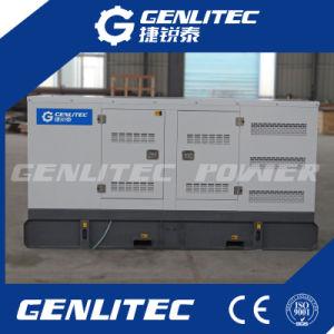 Generatore silenzioso insonorizzato raffreddato ad acqua del diesel della prova 150kw Cummins del tempo