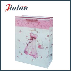Dress Packing Shopping Paper 관례 4c에 의하여 인쇄되는 숙녀 선물 부대