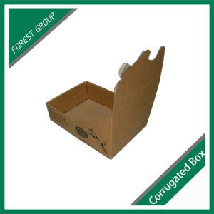 La pequeña pantalla de papel marrón de la moda al por mayor de la caja