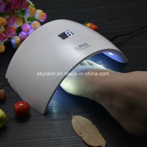 9s UV LED Lámpara de curado de secador de uñas para geles basados