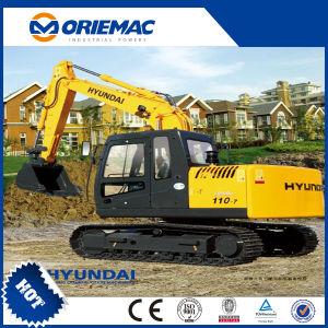 escavatore idraulico del cingolo di 21ton Hyundai con il martello facoltativo R215-7c dei collegamenti