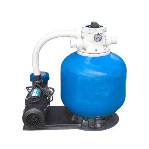 수영풀 물 펌프를 가진 회람 실리카 모래 필터