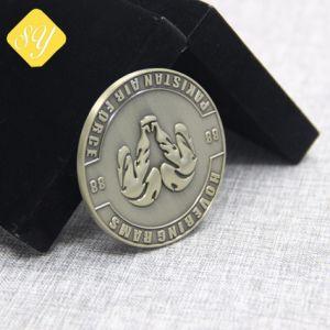 Großhandelsfabrik-Preis-kundenspezifische Messingüberzogene Bronzekupfermünze