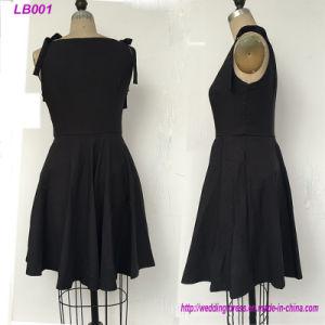 2018 новейших Fashion твердых Sexy Сарафан мало платье черного цвета
