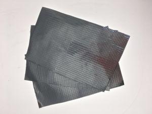 Burning-Resistant lámina de aluminio reforzado con tela de fibra de vidrio.