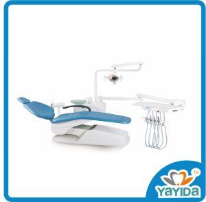 La unidad de equipo dental de la brújula de Foshan sillón dental con luz LED