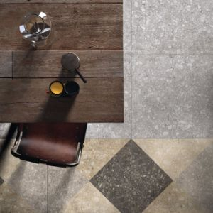 De de Italiaanse Stijl Verglaasde Vloer van de Tegel van het Porselein en Tegel van de Muur voor Woonkamer (TER603)
