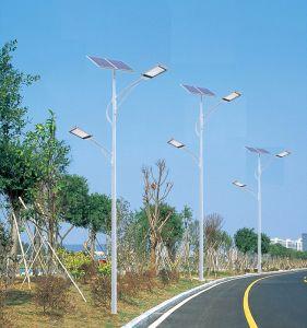 20W-200W公園ハイウェイライトのポーランド人が付いている太陽街灯