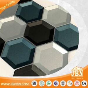 Para el hogar de mejor venta en el espejo interior mosaico de vidrio en forma de mosaico de bloque (M855411)