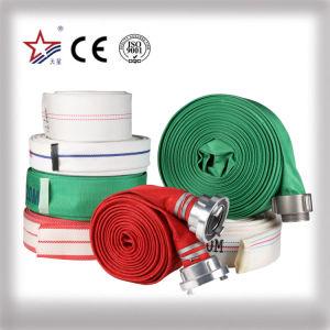 El PVC de alta presión de la manguera de agua contra incendios