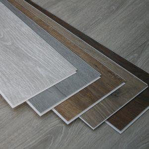 Vinil comercial da decoração home que cobre o clique impermeável do PVC da telha impermeável
